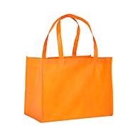 Non Woven Shopper, Orange, Standard, Auswahl Werbeanbringung optional