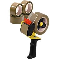 NOPI® 12 rubans d'emballage 66 m x 55 mm + 1 dérouleur GRATUIT