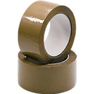 NOPI® rubans d'emballage Classic PP, 66 m x 50 mm, brun, 6 rouleaux