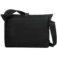 """Notebook-Tasche """"LOFT"""", gepolstert, Polyester, schwarz, B 400 x T 130 x H 300/420 mm, WAB 200x100 mm"""