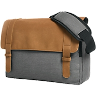 Notebook-Tasche URBAN, gepolstert, Kunstleder/Polyester, WAB 200 x 100 mm, braun