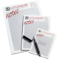 Notizblock, DIN A4, inkl. 1- farbigem Werbedruck