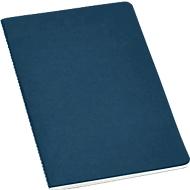 Notizbuch, 40 linierte Blätter, aus recyceltem Karton, blau