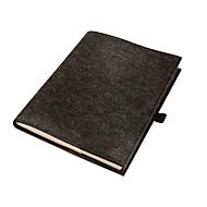 Notizbuch A4, Anthrazit, Standard, Auswahl Werbeanbringung optional