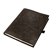 Notizbuch A5, Anthrazit, Standard