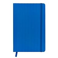 Notizbuch, Blau, Standard, Auswahl Werbeanbringung optional