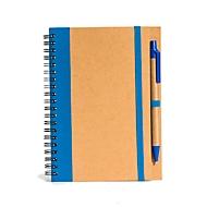 Notizbuch Groß, Blau, Standard