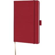 Notizbuch Lediberg Appeel A6, 160 Blatt kariert, aus Apfelpapier, rot