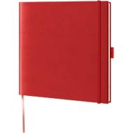Notizbuch Lediberg, ideal für die Werbeanbringung, hellrot