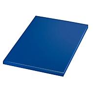 Notizbuch Match-The-Edge, DIN A5, 100 karierte Blätter, gebunden, blau