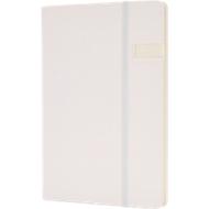 Notizbuch, mit 4GB USB-Speicher, A5, weiß
