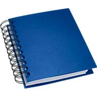 Notizbuch mit Spiralbindung, blau