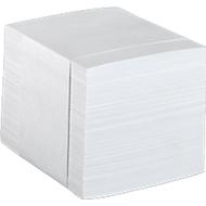 Notizzettel-Nachfüller, 85 x 85 mm, weiß
