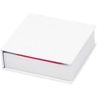 Notizzettelbuch, 200 Notizzettel, 125 Haftnotizen, weiß