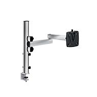 Novus Monitor-Schwenkarm TSS Single 450, Klemme 14 bis 40 mm, H 445 mm, Faltarm