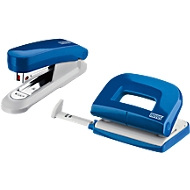 Novus perforator-nietmachine SET Evolution Twin Set fresh, blauw