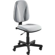 NowyStyl Bürostuhl Jupiter, Permanentkontakt, ohne Armlehnen, Muldensitz, grau
