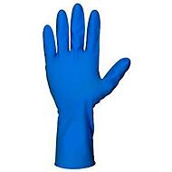 Ntril Handschuhe, EN 455, puderfrei, blau, Größe M, 100 Stück