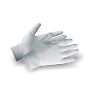 Nylon fijn gebreide handschoen 3700 wit maat 6