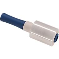 Offre complète : 6 mini rouleaux de film d'emballage, transparant, 100 mm de large + 1 dérouleur