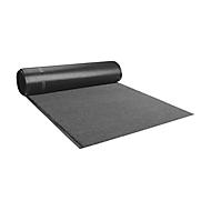 Olefin-mat, stroken, 1220 mm, grijs