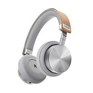 On-Ear Kopfhörer Vonmählen Wireless Concert One, Bluetooth, 90° faltbar/180° rotierbar, Aluminium/Echtleder, silber