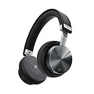 On-Ear koptelefoon Vonmählen Wireless Concert One, bluetooth, 90° opvouwbaar/180° draaibaar, aluminium/echt leder, zwart