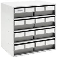 Onderdelenkastje 6083-30R, 8 schuifladen