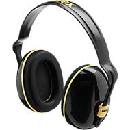 Oorkappen Uvex K200, diëlektrisch, SNR 28 dB, in lengte verstelbaar, 360° draaibaar, zwart/oker