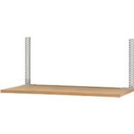 Opbouwframe & opbouwzuilen set, voor lage opbouwcomponenten, gepoedercoat, H 800 mm