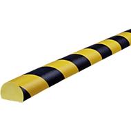 Oppervlaktebescherming type C, 5 m/rol, geel/zwart