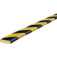Oppervlaktebescherming type F, 5 m/rol, geel/zwart