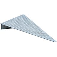 Oprijhoek type AE 124, gegalvaniseerd, L 1120 x B 1120 x H 123 mm