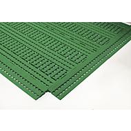 Oprijrand, 600mm, groen