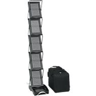Opvouwbare folderhouder, mat zwart