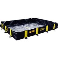 Opvouwbare lekbak, berijdbaar, met snelsluitsysteem, textiel/PVC, 660 l volume