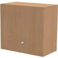 Opzetkast TETRIS WALL, 2 ordnerhoogten, deuraanslag rechts, B 800 x D 440 x H 740 mm,