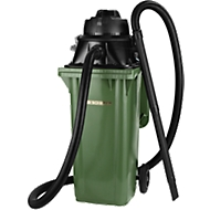 Opzetstofzuiger Manutec-Mammut, 1100 W, geschikt voor 120 l afvalbakken, zonder gereedschapshouder.