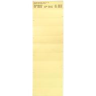 Organisationsstreifen, gelb