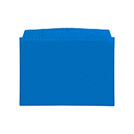Orgatex magneethoezen, A6 liggend, blauw, 50 st.