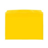 Orgatex magneethoezen, m. klep, A5 liggend, geel, 50 st.