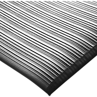 Orthomat® Arbeitsplatzmatte Ribbed, schwarz, lfm. x B 900 mm