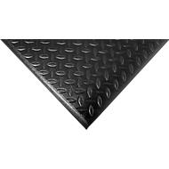 Orthomat® werkplekmat Diamond, zwart, m1 x B 900 mm