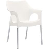 Outdoor-Stuhl OLA, weiß