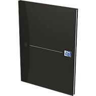 Oxford Office boek, gebonden, A4, 96 pagina's geruit, 5 stuks per verpakking, zwart