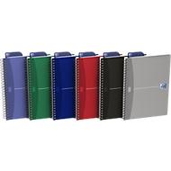 Oxford Office-Spiralbuch, DIN A5, kariert, 5er Pack