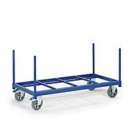 Paalwagen open, Laadvlak 1600 x 800 mm, draagvermogen 1200 kg