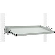 Packpool Ablagekonsole, neigbar, Nutztiefe 345 mm, Tragkraft 35 kg, Breite 1500 mm