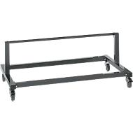 Packpool Untertisch-Abrolleinheit, für Tischbreite 1500 mm, Rollenbreite 930 mm, Stahl, anthrazit