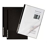 PAGNA Bewerbungsmappen Score 3er Set, DIN A4-Format, Karton, Kapazität 20 Blatt, schwarz